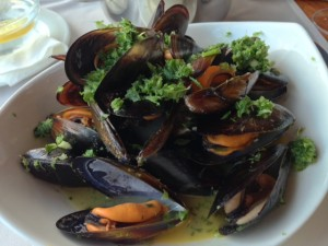 Mussels without chips