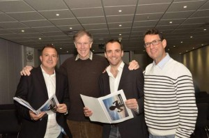 Pictured are: Elan Lohmann, Prof Tim Noakes, Dr Greg Venning and I taken at our Upgrade Your Life talk which Prof Noakes attended.