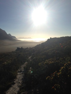 Betty's Bay from the Kogelberg.
