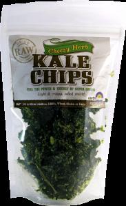 Kale Crisps by Earthshine.