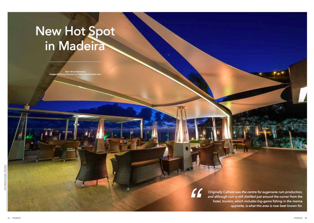 New hot spot in Madeira.