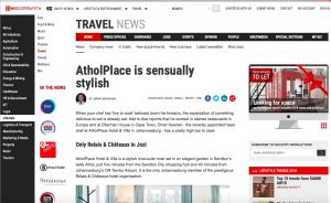 AtholPlace & Villa as published in BizCommunity.com