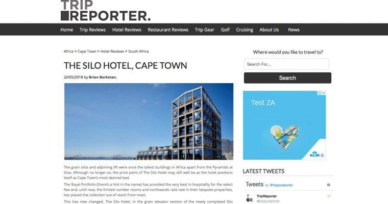 The Silo Hotel, Cape Town.