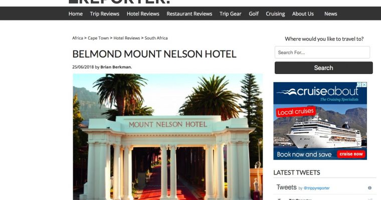 Icon of Cape Town hospitality