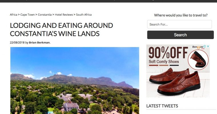Exploring the historic winelands of Constantia's greenbelt.