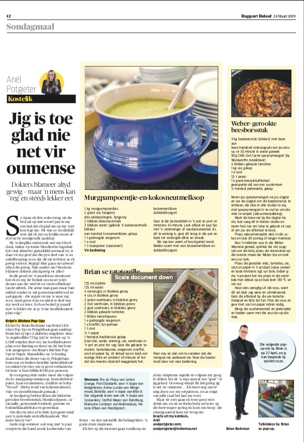 Rapport Newspaper, March 24, 2019