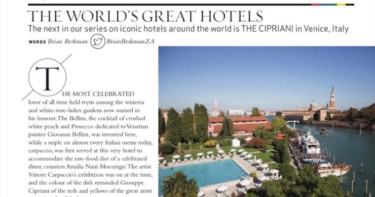 The Cipriani Hotel, Venice