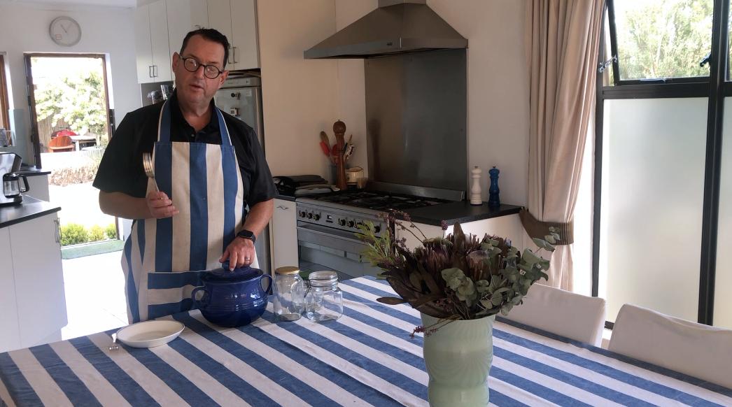 A short movie about making sauerkraut