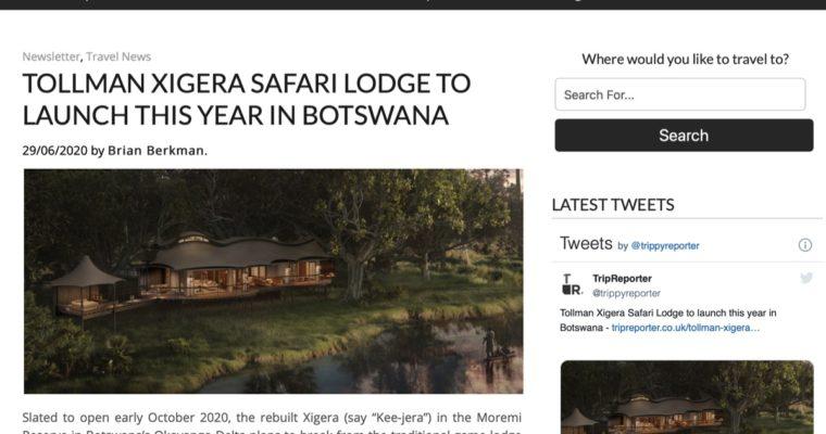 Rebuilt Xigera lodge in Botswana to open October 2020