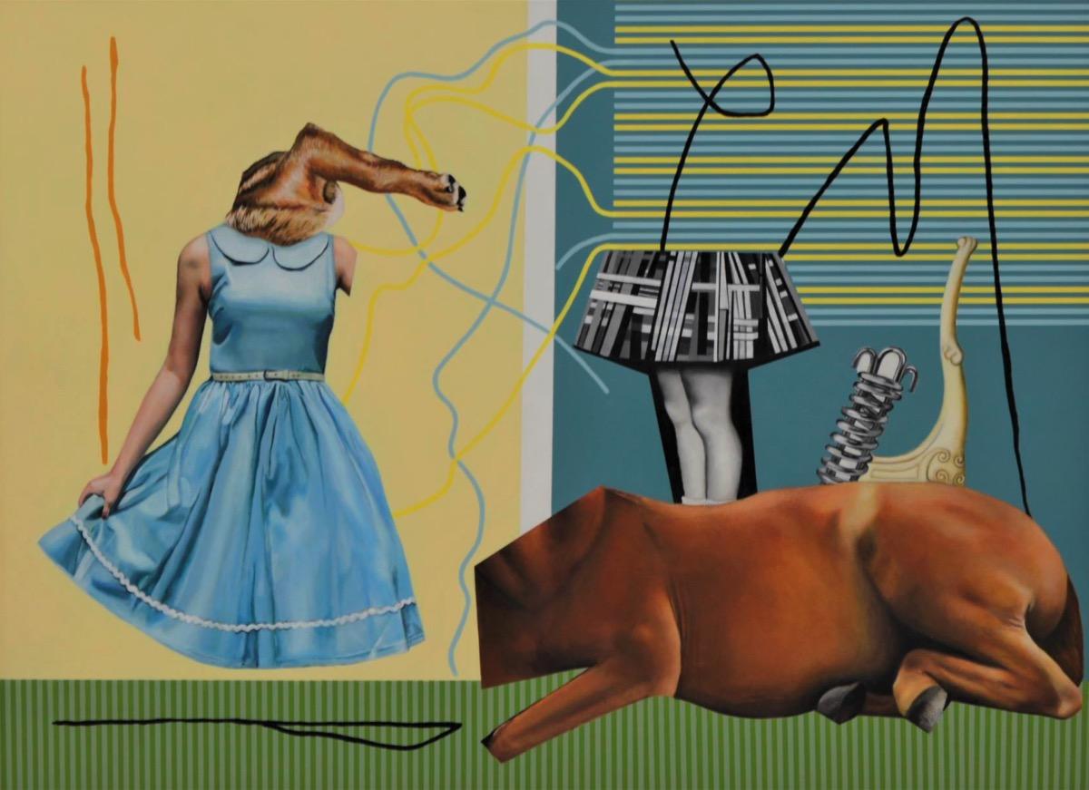 Artist Sulette van der Merwe exhibits
