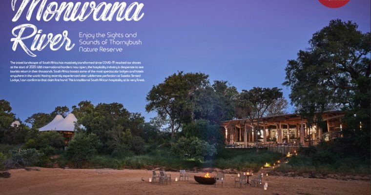 The exceptional Saseka Tented Camp