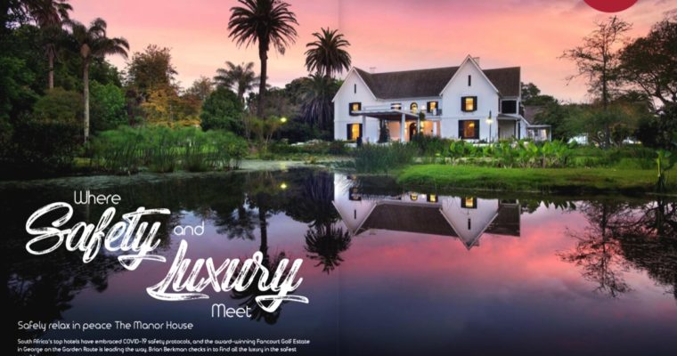 The Manor House at Fancourt Estate as published in SkyNews.